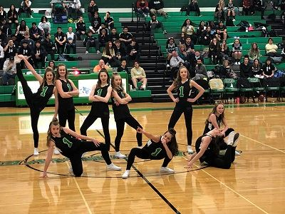 Churchill High dance team