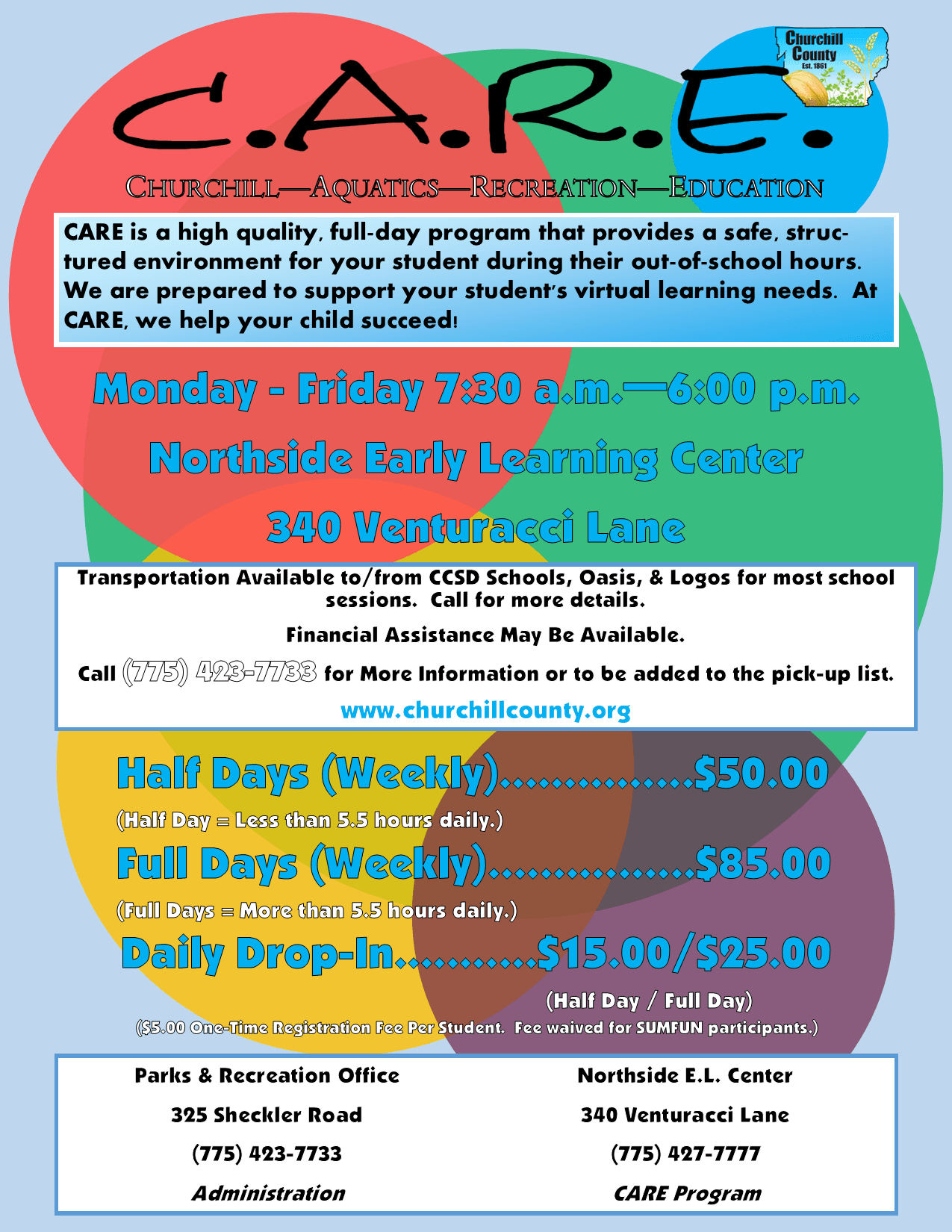 CARE (2020-2021) - Program Flyer (Digital)