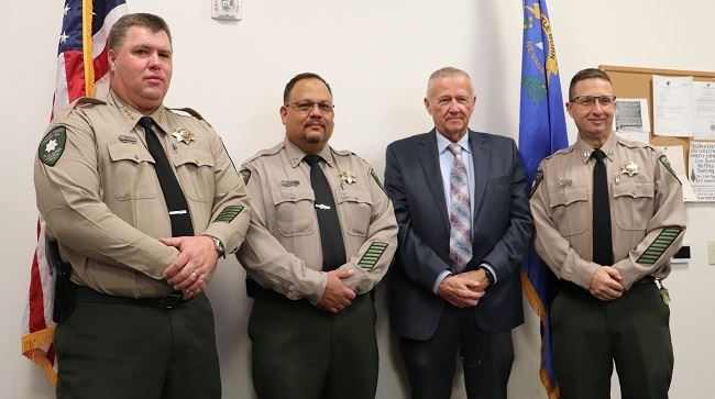 Sheriff's Office leadership team